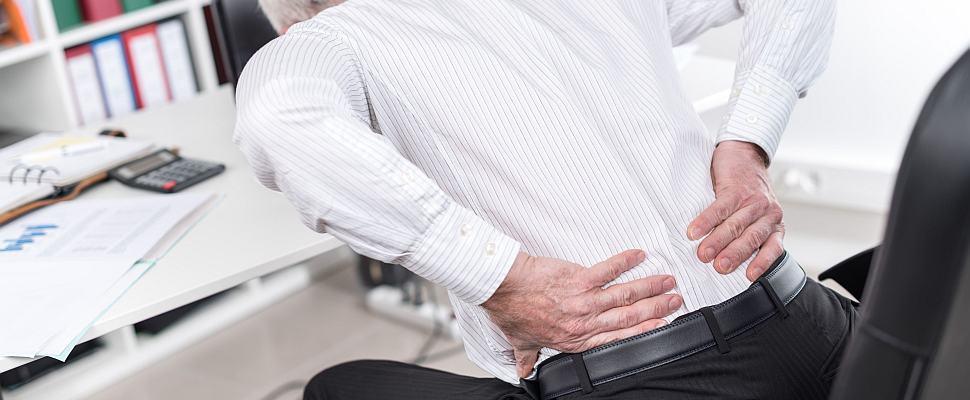 Rückenschmerzen, Urheber: thodonal / 123RF Lizenzfreie Bilder