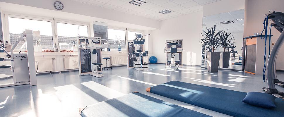 Geräteraum, Krankengymnastik; Foto: Dominik Girek